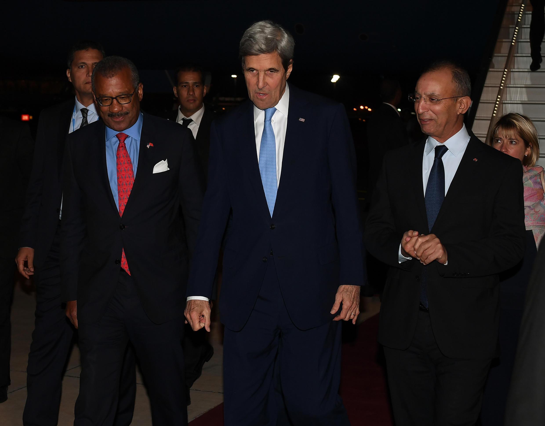 O secretário de Estado americano, John Kerry, realiza nesta quarta-feira (16) uma coletiva de imprensa na COP 22 para reforçar o compromisso dos Estados Unidos no combate ao aquecimento global.