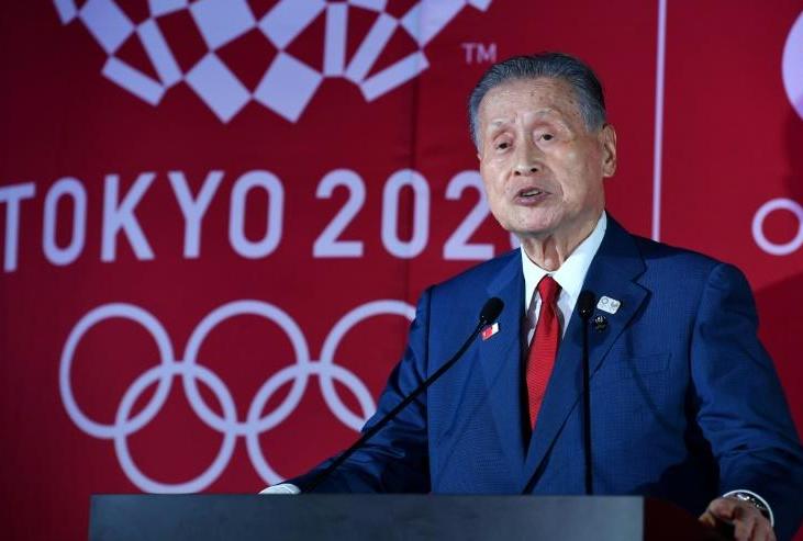 東京奧組委主席森喜朗資料圖片