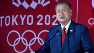 东京奥组委主席森喜朗资料图片