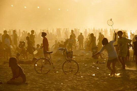 Bức ảnh bãi biển Nha Trang trên tạp chí National Geographic được chụp từ năm 1997