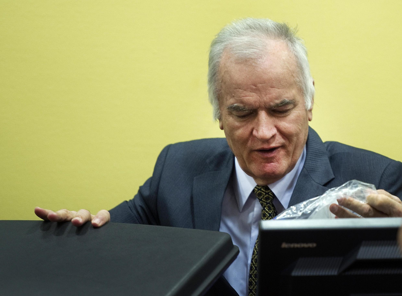 Mkuu wa zamani wa Majeshi ya Bosnia na Serbia, Ratko Mladic