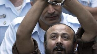 Le leader palestinien emprisonné, Marwan Barghouti.