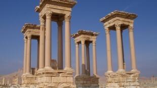 Colunas romanas de Palmira.