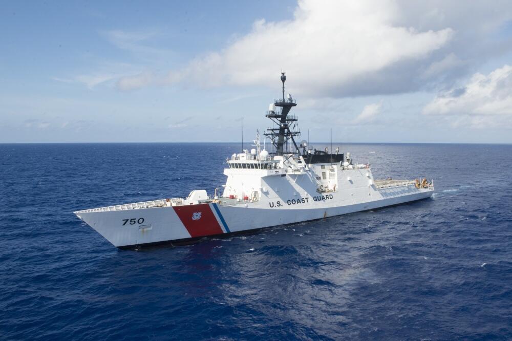 (Ảnh minh họa) - Một tàu tuần duyên của Mỹ.