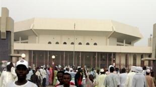 L'Assemblée nationale tchadienne, à Ndjamena, qu'avait présidée Wadal Abdelkader Kamougué.