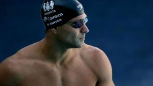 Nadador brasileiro Nicholas Santos.