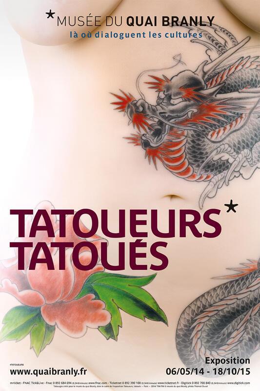 Marginalizada em algumas civilização e sagrada em outras, a tatuagem tem sua trajetória traçada na exposição parisiense.