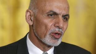 Le président afghan, Ashraf Ghani, le 24 mars 2015.
