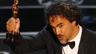O mexicano Alejandro Iñárritu ganhou o prêmio de Melhor Diretor