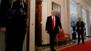 Donald Trump, le 27 février 2017 à la Maison Blanche.