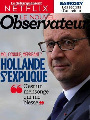 Capa da resvista Nouvel Observateur