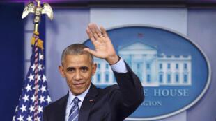 លោក Barack Obama ប្រធានាធីបតីសហរដ្ឋអាមេរិក