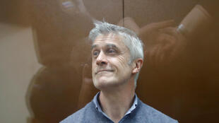 Основатель инвестиционного фонда Baring Vostok Майкл Калви в Басманном суде Москвы. 16 февраля 2019 г.