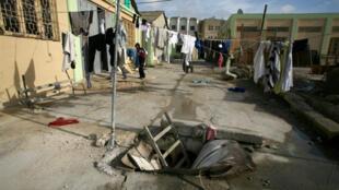 Le camp de réfugiés de Marsa, à Malte.