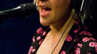 Alice Russell au studio 136