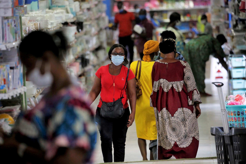 Un supermarché d'Abidjan (Photto d'illustration).