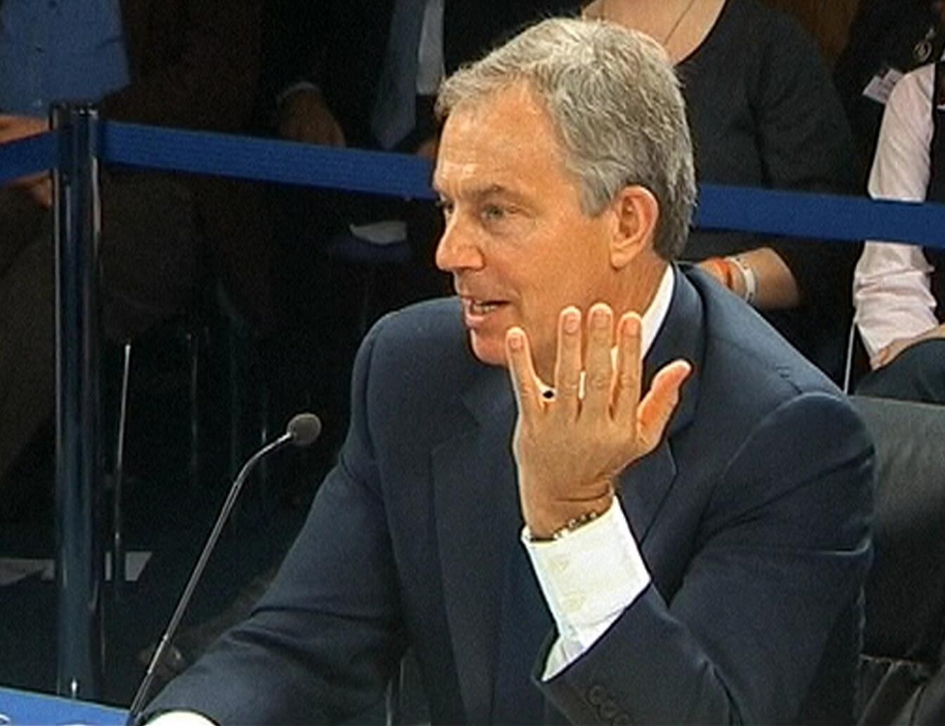 Tsohon PM Birtaniya Tony Blair