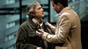 La pièce «Vertiges» du metteur en scène et dramaturge Nasser Djemaï.