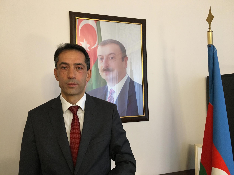 Rahman Mustafayev, Balozi wa Azerbaijan nchini Ufaransa.