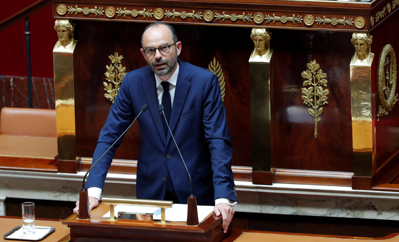 O primeiro-ministro Édouard Philippe detalhou o programa do governo nos próximos cinco anos.
