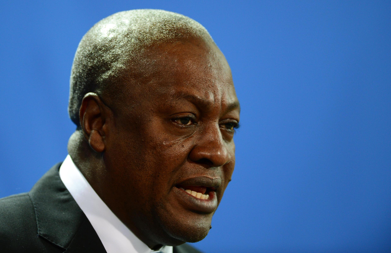 John Dramani Mahama, président en fonction au Ghana.
