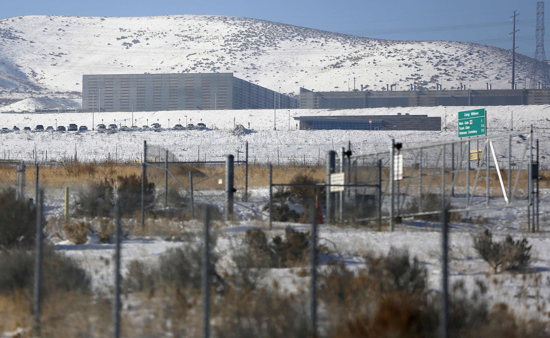Một trung tâm lưu trữ dữ liệu của NSA tại Bluffdale, Utah (ảnh chụp 16/12/2013)