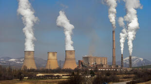 Coal-fired power plants like the Bobov Dol Thermal Power Plant provide 60 percent of Bulgaria's electricity