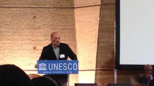 2014年聯合國教科文組織新聞自由獎得主阿赫邁特-史克