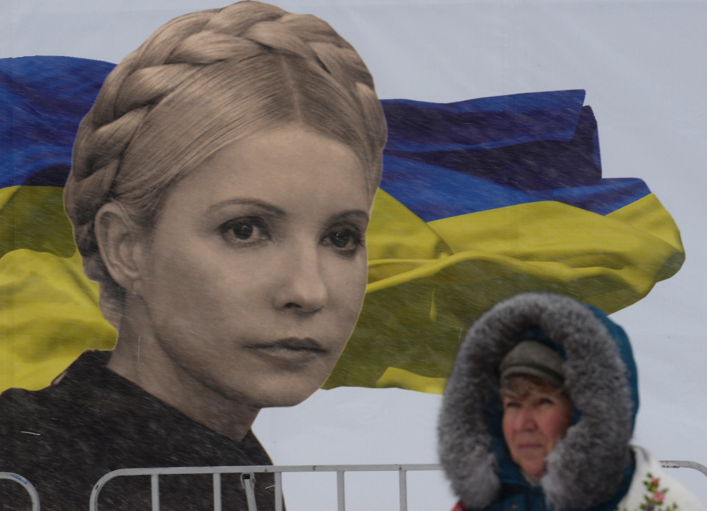 Malgré le froid et la neige, les manifestants pro-européens restent mobilisés à Kiev, ce lundi 9 décembre.
