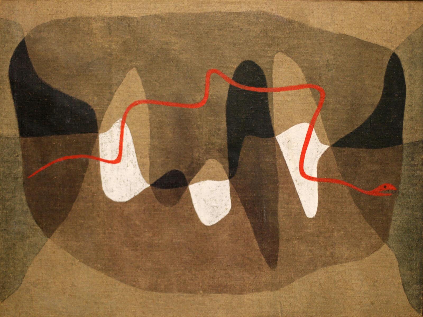 """""""Chemin des serpents"""", 1934 de Paul Klee."""