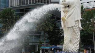 Le Merlion de Singapour