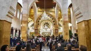 Wasu Armeniyawa a birnin Aleppo kafin barkewar yakin Syria.