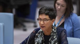 联合国负责人道主义事务的助理秘书长穆勒(Urula Mueller)2019年12月20日