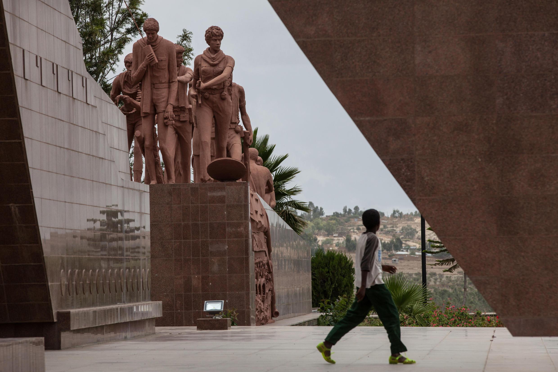 Le mémorial des martyrs dans la ville de Mekele, en Ethiopie.