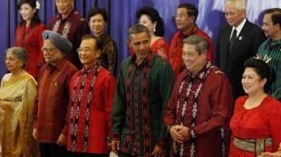 En 2011, Barack Obama avait également assisté au sommet de l'Asean qui s'était tenu à Bali, en Indonésie.