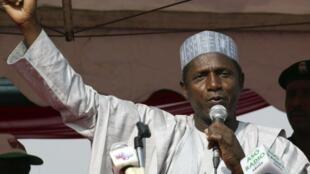 Le président Umaru Yar'Adua.