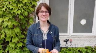 Nadine Pesonen, ingénieure, inventeur, fondatrice de la société Quanturi.