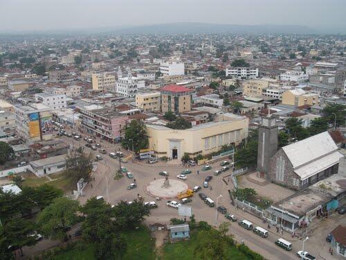 Centre-ville de Brazzaville.