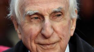 Michael Bond, ici en 2014, l'auteur de l'ours Paddington, est décédé le 27 juin, à l'âge de 91 ans.