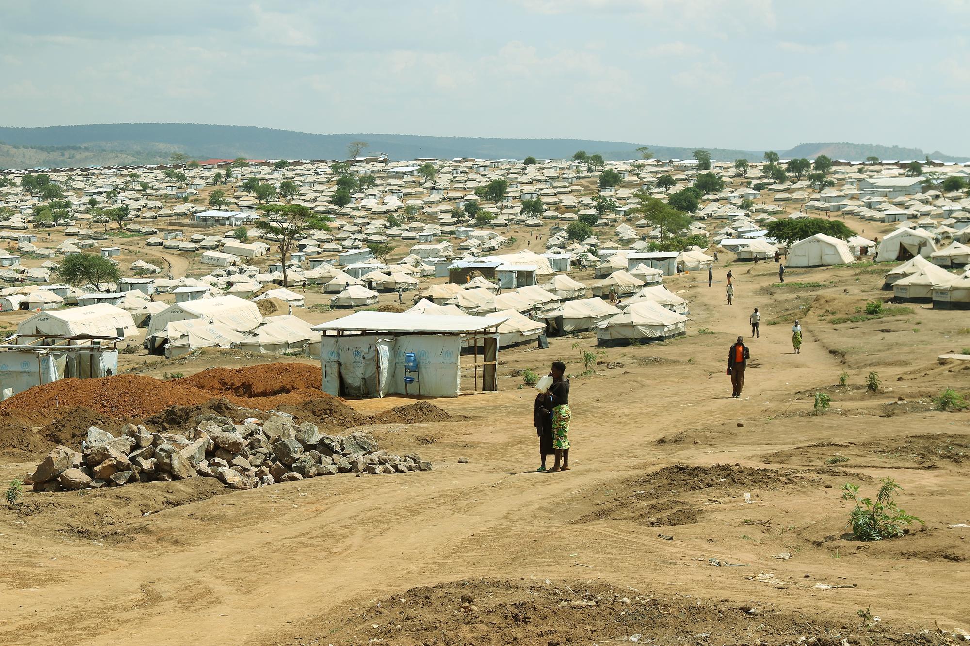 Kambi ya Mahama Kusini-mashariki mwa Rwanda, inaohifadhi wakimbizi kutoka Burundi.