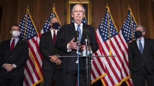 USA - Senateur républicain Mitch McConnell AP20343716225745