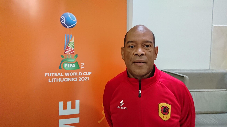 Rui Sampaio - Angola - Futsal - Desporto - Selecção Angolana - Lituânia - Palancas Negras