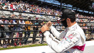 Brazil's Helio Castroneves won his fourth Indianapolis 500, tying the all-time record