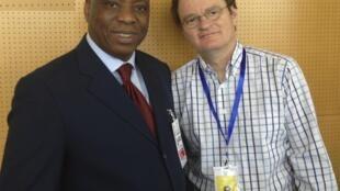 Le médecin guinéen Morissanda Kouyaté, au sommet de l'UA, à Addis-Abeba, en janvier 2013.