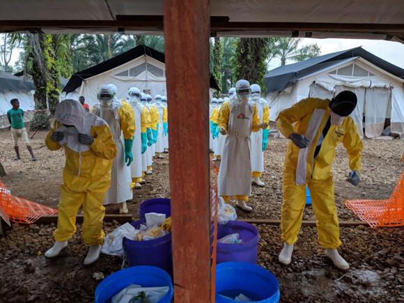 Des patients soignés par l'ONG Médecins sans frontières en RDC (image d'illustration).