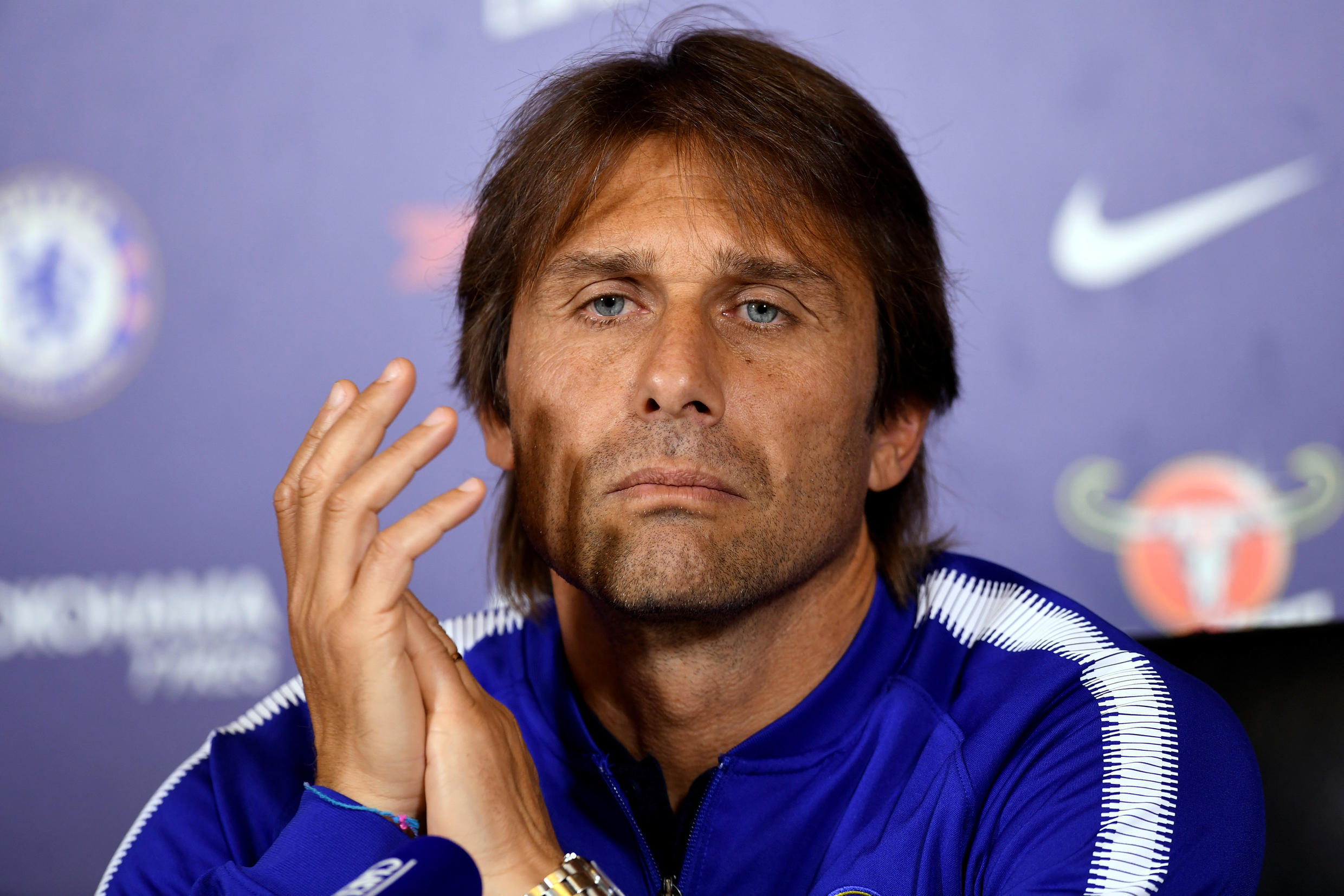 Antonio Conte led Chelsea to the Premier League title in his first season in charge at Stamford Bridge.