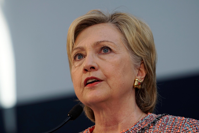 Hillary Clinton, candidata democrata à presidência dos EUA.