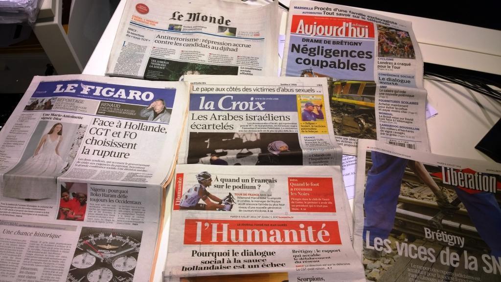 Diários franceses 08/07/2014