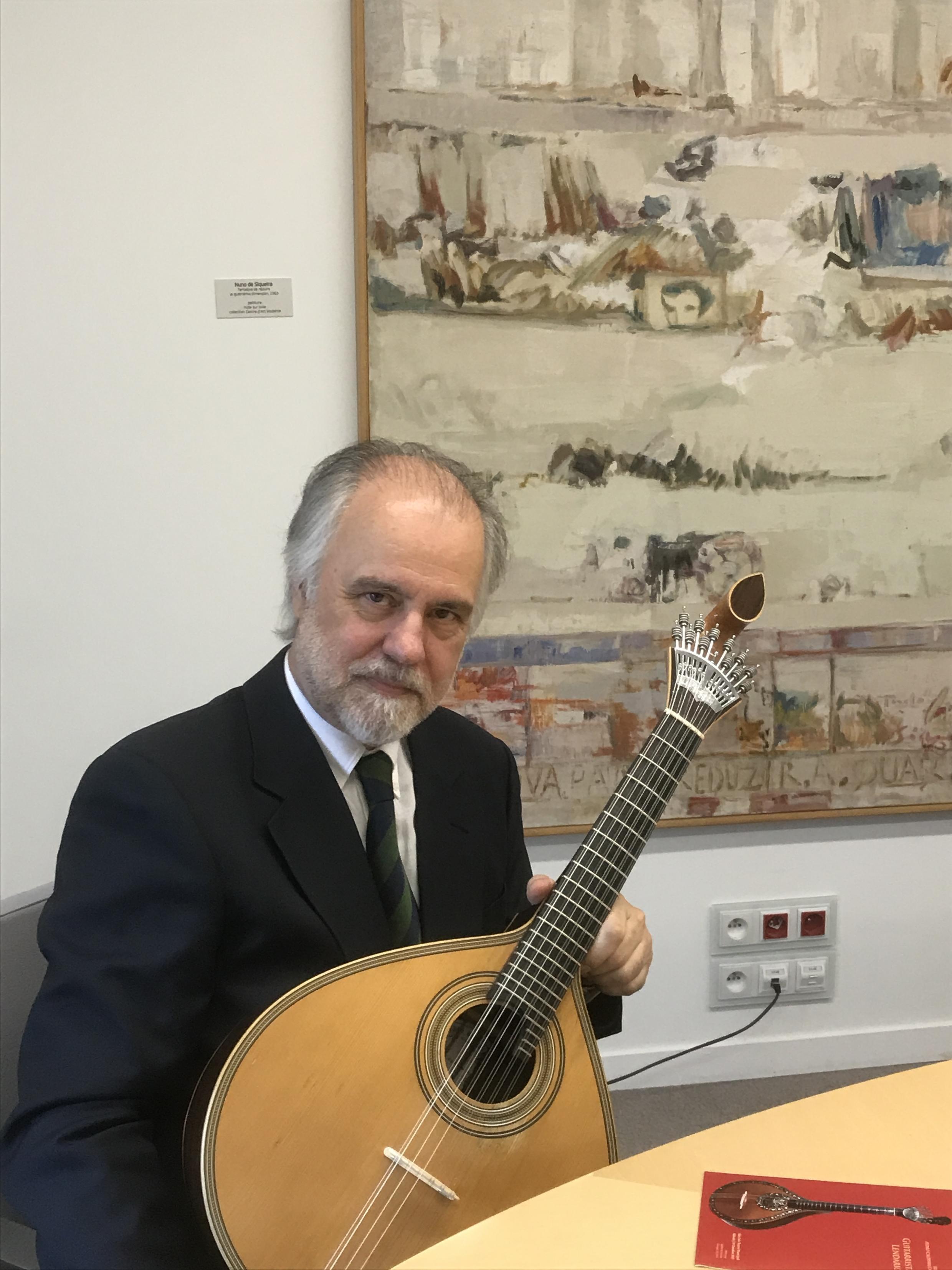 Pedro Caldeira Cabral na delegação parisiense da Fundação Calouste Gulbenkian em Paris a 6 de Junho de 2017.