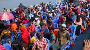 Bangladesh: transfert des réfugiés rohingyas vers l'île de Bhasan Char, une réelle chance?